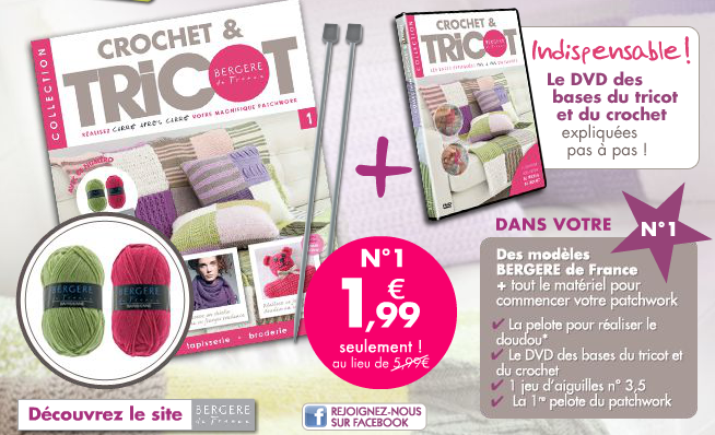 *Collection Crochet & Tricot n°1
